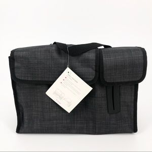 Thirty-One Pack & Pull Caddy Black Organizer